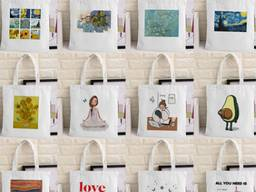 100% cotton fabric bags