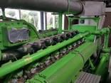 Б/У газовый двигатель Jenbacher J320 GS B05,1000 Квт,1996 г. - фото 4