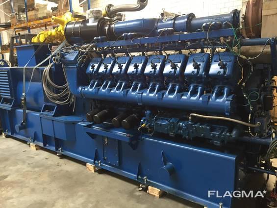 Б/У газовый двигатель MWM TBG 620, 1995 г. ,1 052 Квт.