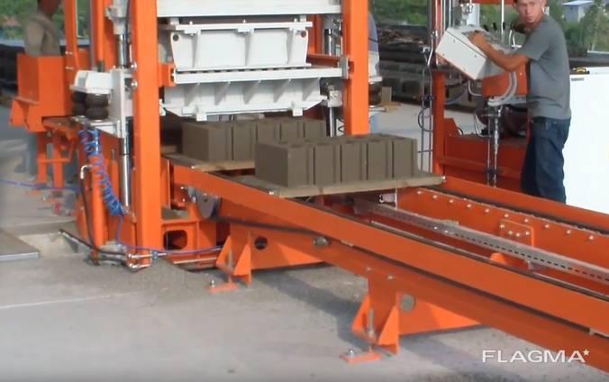 Блок машина для производства тротуарной плитки R300
