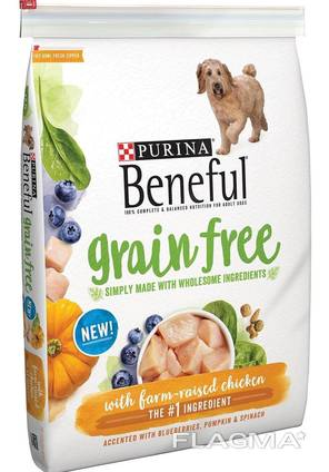 Dry dog food available for sale