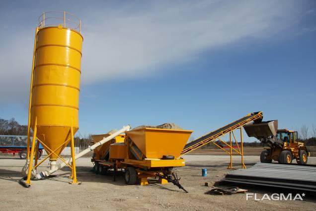 Мобильный бетонный завод LT 1200 (40 м3/час) Швеция