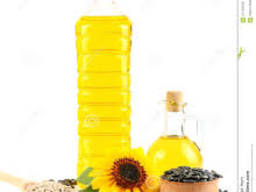 Refined Sunflower oil in bottles 1l, 3l, 5l